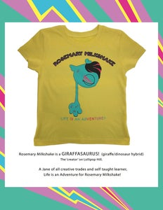 Image of ROSEMARY MILKSHAKE TODDLER TEE
