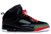 Image of Air Jordan Spiz'ike Black/Red/Green