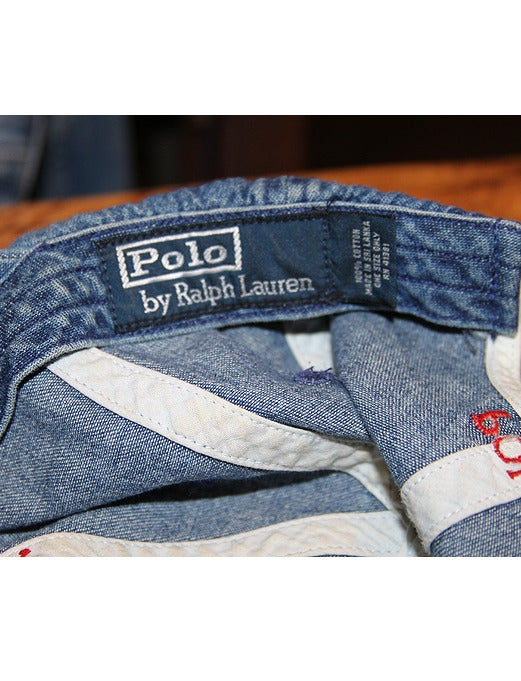 Image of Vintage Polo By Ralph Lauren Denim Hat
