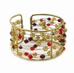 Image of Spice Beaded Cuff