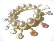 Image of Chunky Pearl Dangle bracelet