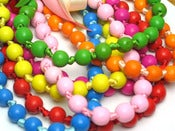 Image of Knotted bead necklace