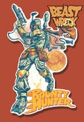 Image of BOUNTY HUNTER diecut sticker