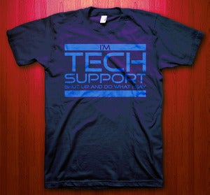 Image of Tech Support (Heather BlueViolet)