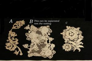 Image of OOAK Lace Wedding Guest Book, DIY, Scrapbook, Personalized, Handmade, Your Choice Color