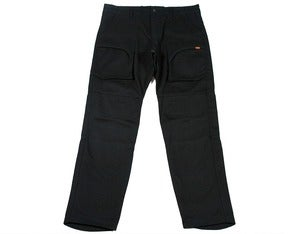 Image of SKIRMISH TROUSERS - BLACK BULL DENIM