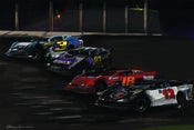 "Image of ""Four Wide at Fairbury"" Painting Print -- Sheet Only"