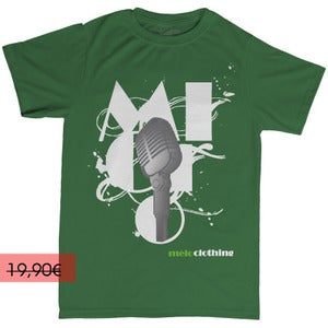 Image of ONE MIC -Vert - Homme (T-shirt)