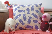 Image of girlbot pillow