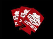 Image of Seat Time Koozies (Set of 2)