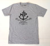 Image of SFV MERCANTILE X PAPA NUI MP MADE PERFECT Anchor Tee Heather Grey