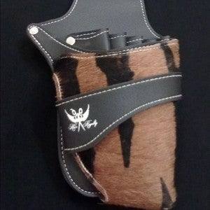 "Image of ""Tiger Stripe"" Fur Tool Holster Pouch"