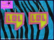 Image of &quot;lol&quot; Earrings