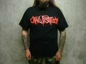 Image of ORAL FISTFUCK - Logo Shirt Red Print