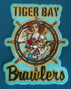 Image of Tiger Bay Brawlers Sew On Patch