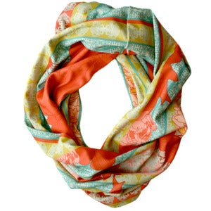 Image of Veda. Single Loop Infinity Scarf