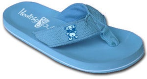 Image of Child Abuse Prevention Flip Flop ( Baby Blue )