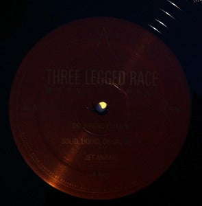 Image of THREE LEGGED RACE - WRONG ELEMENT EP BLACK VINYL 12""
