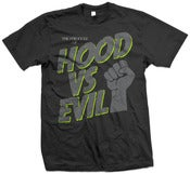 Image of HOOD VS EVIL T - Neon Lime