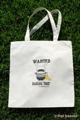 Image of Flat Bonnie - Wanted Banana Thief Tote Bag - Handmade