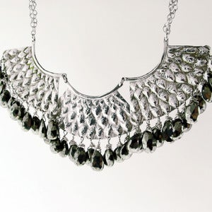 Image of Sky Serpent Statement Necklace