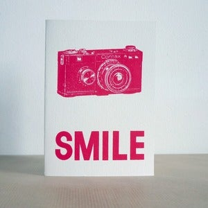 Image of Smile greeting card