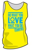 "Image of Neon Yellow ""LOVE"" Tanks"