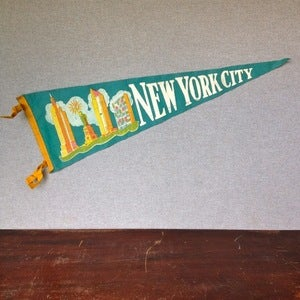 Image of New York City Pennant