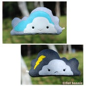 Image of Flat Bonnie's super helper Flat Cloud - Double Sided Plush - Handmade
