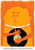 Image of Clap Your Hands Say Yeah Sasquatch! Festival poster
