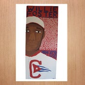 Image of Will Johnson: Limited Edition Baseball Print - Willie Foster