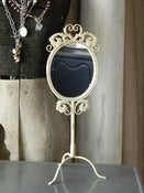 Image of Chic Vintage Inspired Vanity Mirror
