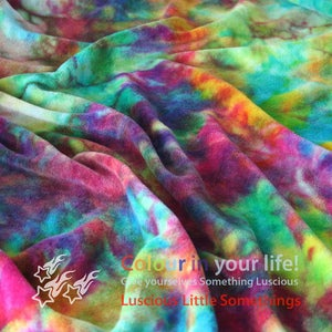 Image of Hand Dyed Bamboo Velour (viscose)