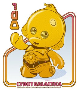 Image of 3PO Cybot Galactica Tee