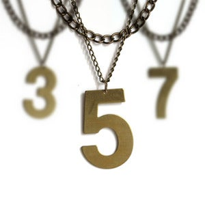 Image of Lucky Number Necklace