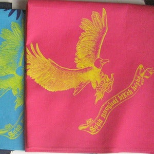 Image of Eagle Carrying Corn Bandana