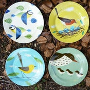 Image of Birdy Plate Set