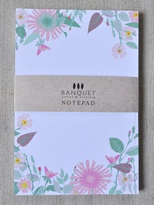 Image of Bouquet Notepad