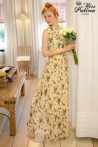 Image of Daydreamer Maxi Dress (Bird Print)