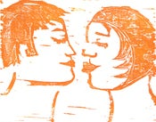 Image of Kissing Couple
