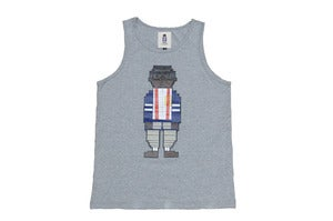 Image of DIGITAL NERD TANK Grey