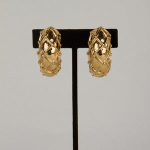 Image of 80's Givenchy Clip Earrings