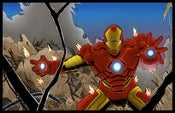 Image of IRON MAN - COLORED PRINT