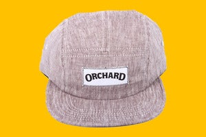 Image of Orchard 5 Panel Hat - Chocolate Linen