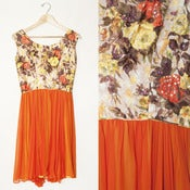 Image of ORANGE PUNCH DRESS // M