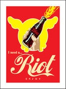 Image of D*Face - Riot Coke 