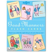 Image of GOOD MANNERS FLASHCARDS