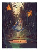Image of 18x24 Alice Giclée (Limited Edition)