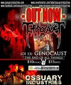 "Image of GENOCAUST ""The End of All Things"" CD"
