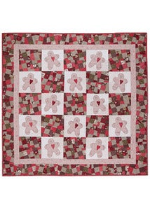 Image of Gingerbread Man Quilt